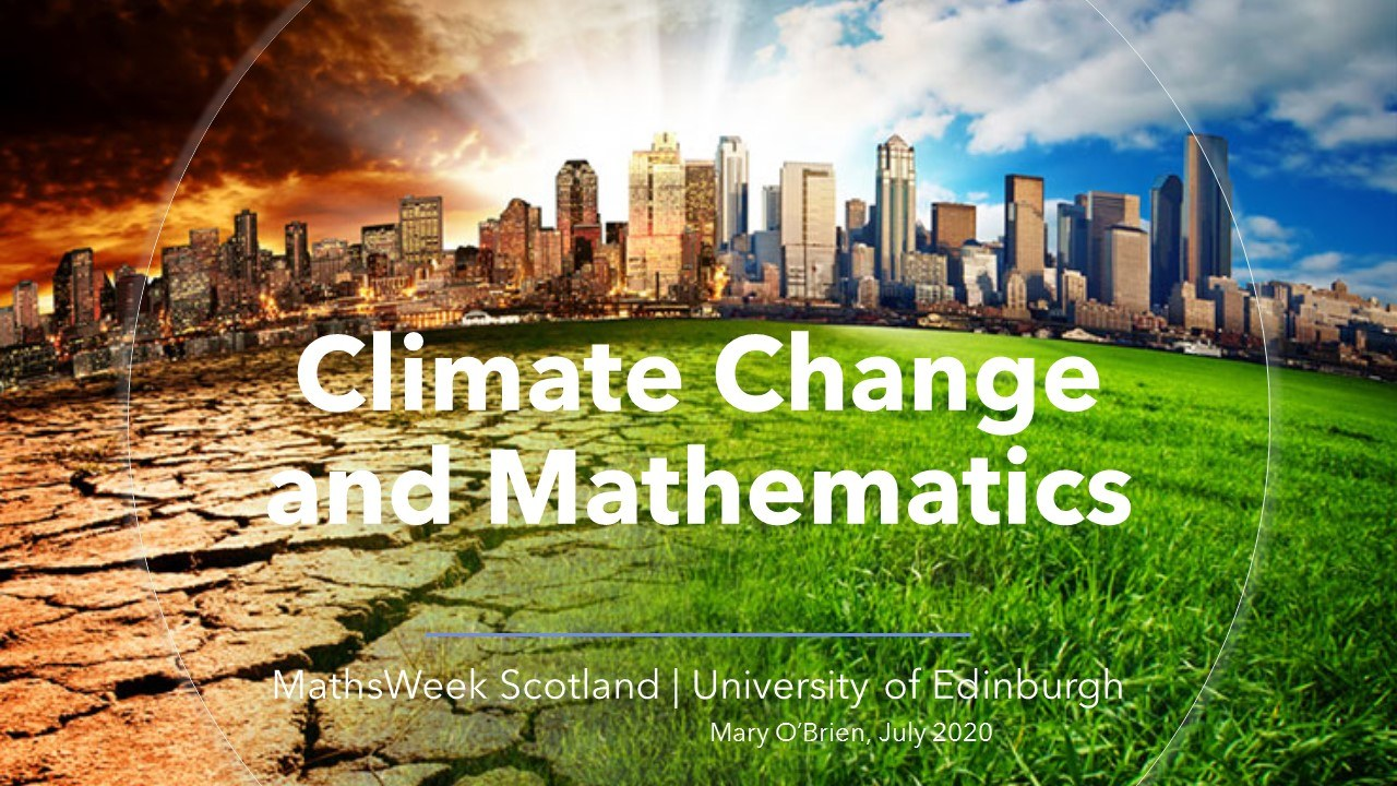 Climate Change and Mathematics