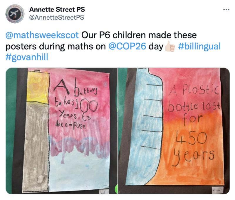 Annette Street COP26