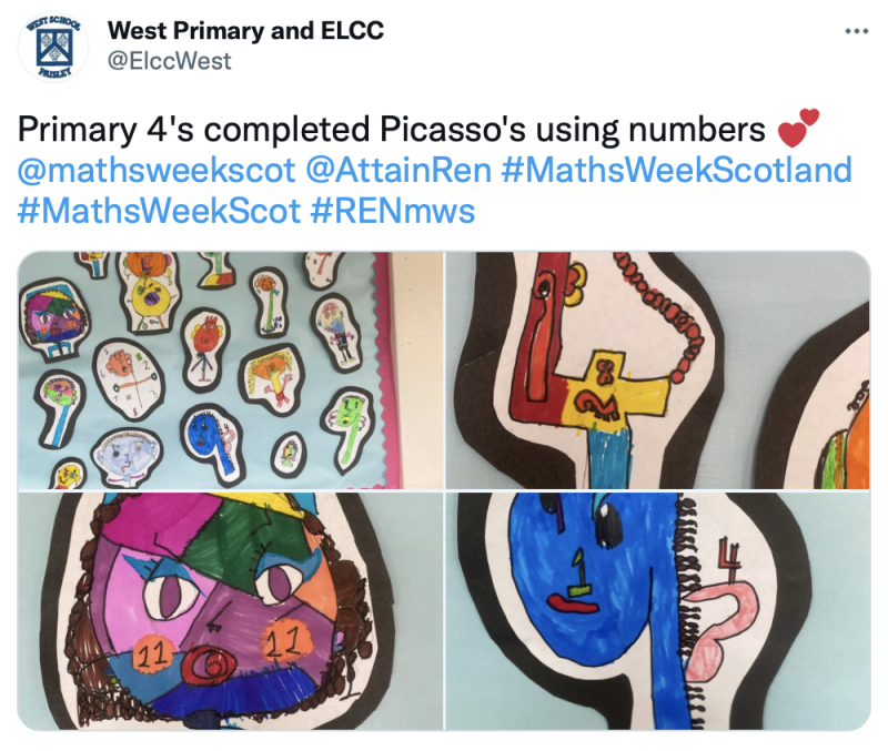 ELCC West Maths Picasso