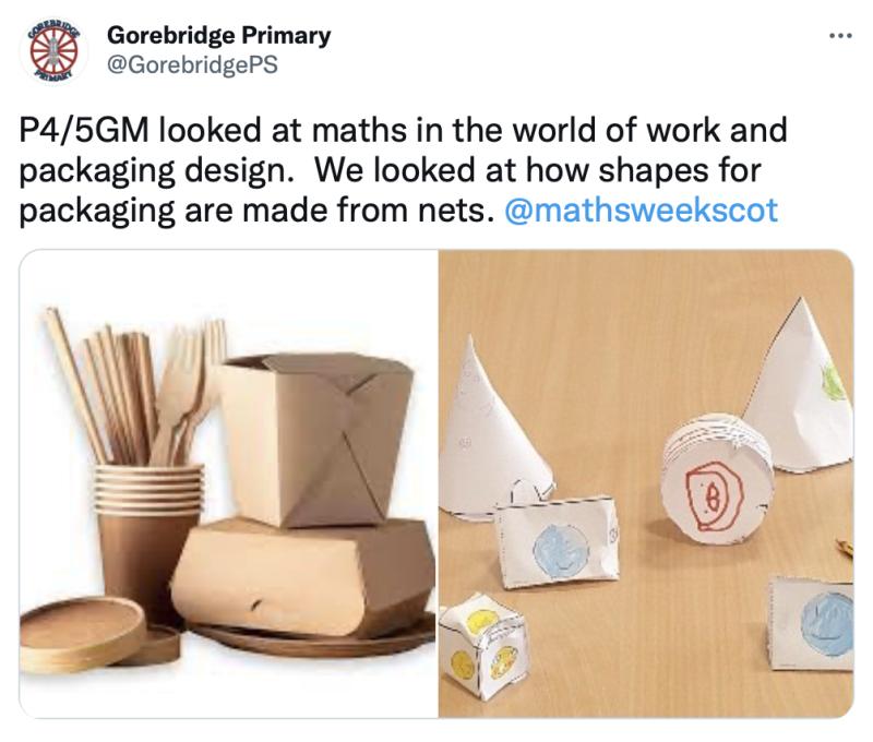 Gorebridge Maths Design