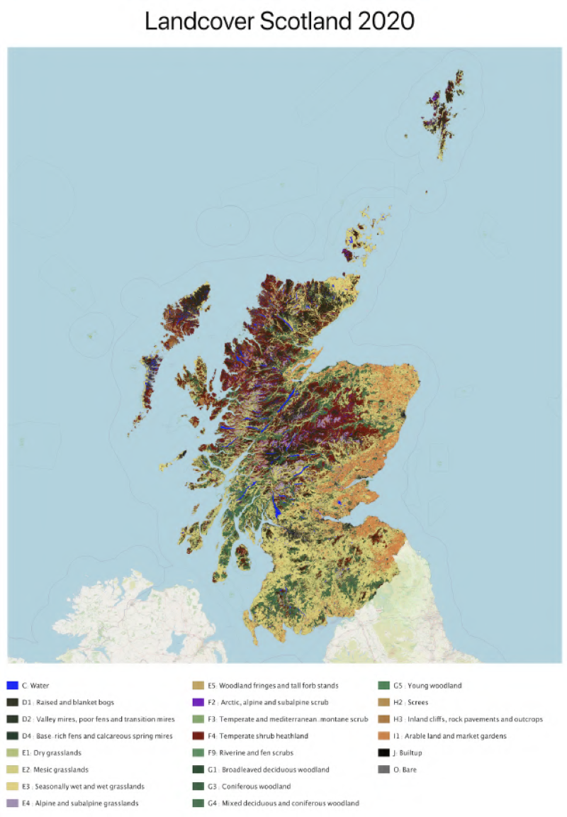 Landcover Scotland