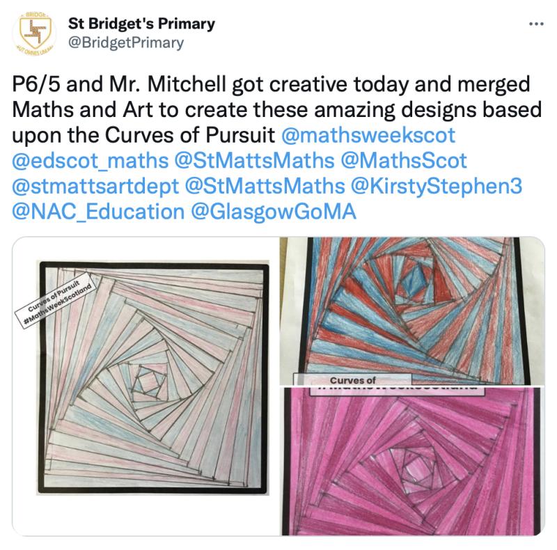 St Bridgets Maths Art