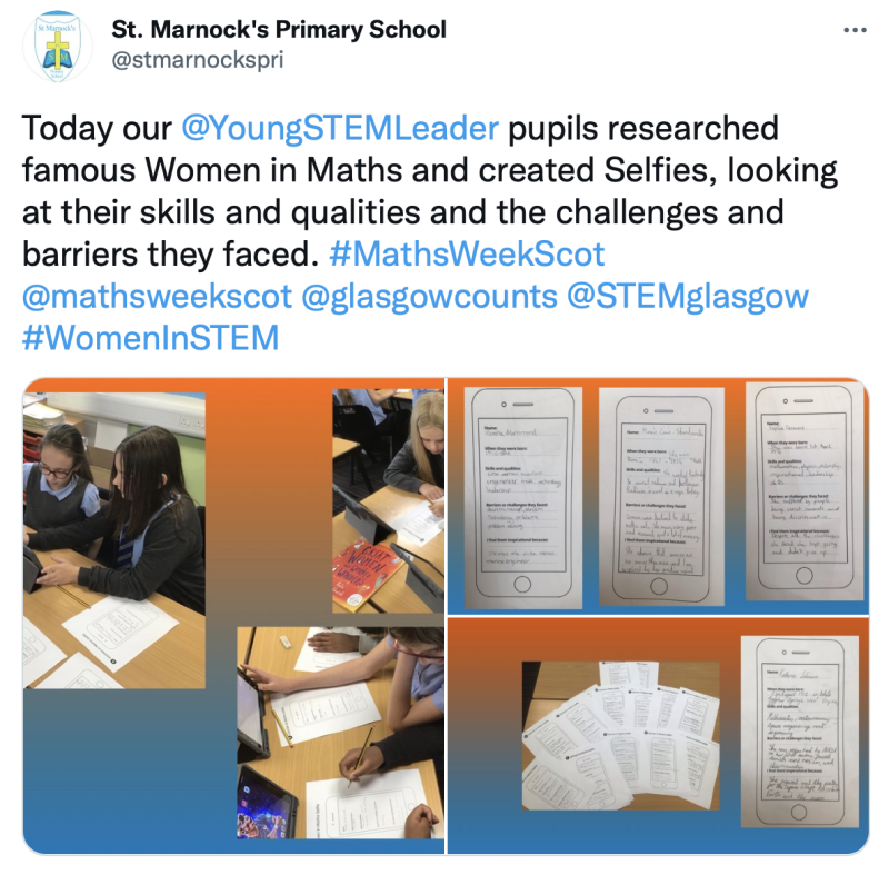 St Marnocks Women In Stem