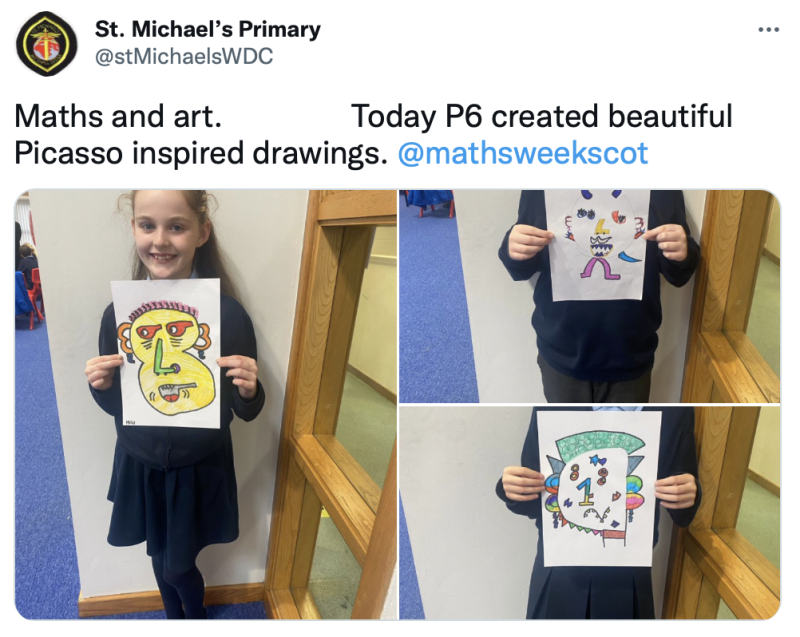 St Michaels Maths Picasso