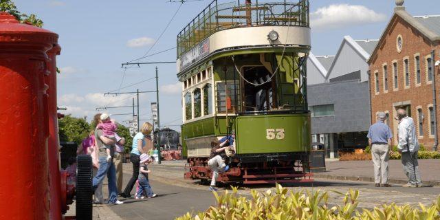 Slee Tram in Spring Sun 2009